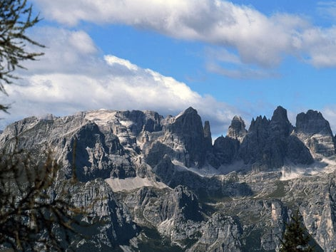 The Dolomiti di Brenta Mountains